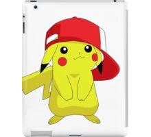 Pokemon Pikachu in Hat Cool Pika iPad Case/Skin
