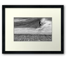 Down the line Dreaming Framed Print