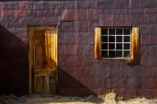 Door and window by Jeffrey  Sinnock