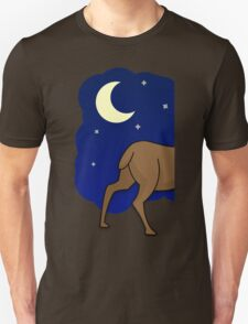 Night Reindeer (Left) T-Shirt