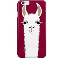LLAMA PORTRAIT #3 iPhone Case/Skin