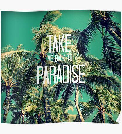 TAKE ME BACK TO PARADISE II  Poster