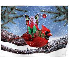 The Cardinal & The Christmas Fairy Poster