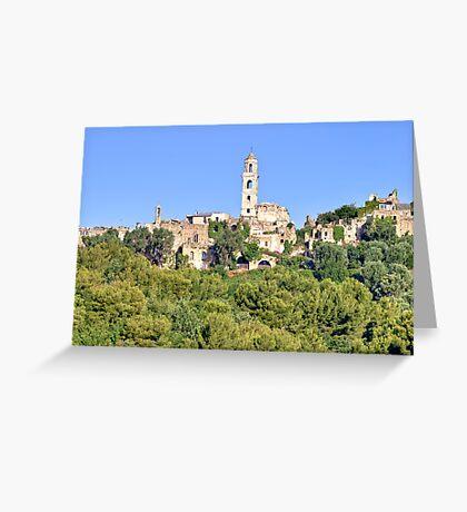 Liguria Greeting Card