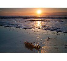 Early Morning Beach Sunrise Photographic Print