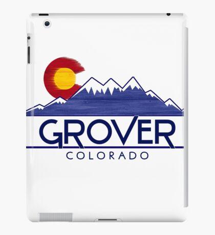 Grover Colorado wood mountains iPad Case/Skin