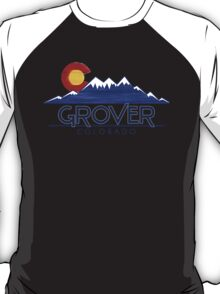 Grover Colorado wood mountains T-Shirt