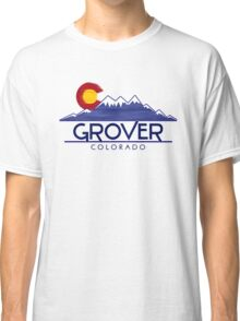 Grover Colorado wood mountains Classic T-Shirt