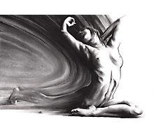 Fount iv - conté drawing  Photographic Print