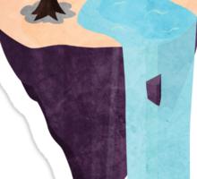 Floating Island Sticker