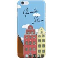 Gamla Stan Stockholm iPhone Case/Skin