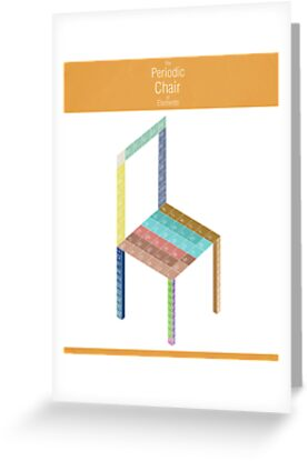 Periodic Chair of Elements by Simon Alenius