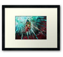 Garden of Fire & Water Framed Print