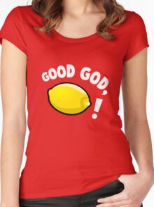 Good God, Lemon! Women's Fitted Scoop T-Shirt
