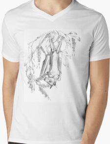 Australian Little Red Flying-fox Mens V-Neck T-Shirt