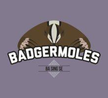 Ba Sing Se Badgermoles Kids Tee