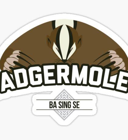 Ba Sing Se Badgermoles Sticker