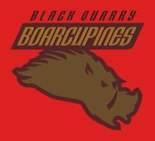 Black Quarry Boarcupines One Piece - Long Sleeve