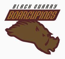 Black Quarry Boarcupines Kids Clothes