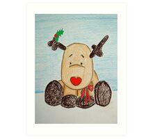 Holly BowLightly Art Print