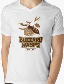 Bau Ling Buzzard Wasps Mens V-Neck T-Shirt