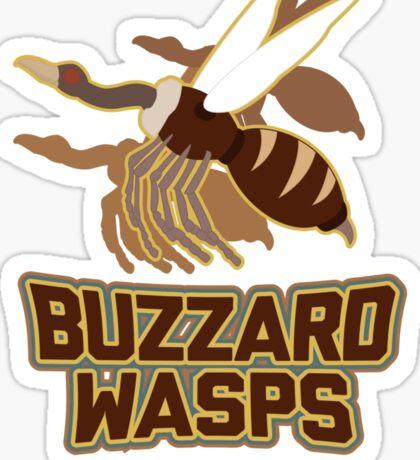 Bau Ling Buzzard Wasps Sticker