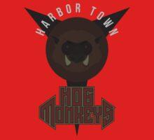 Harbor Town Hog Monkeys Kids Tee