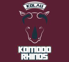 Kolau Komodo Rhinos by jdotrdot712
