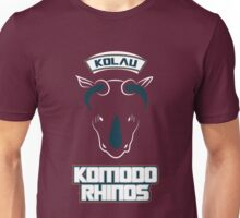 Kolau Komodo Rhinos Unisex T-Shirt