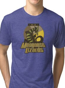 Mo Ce Mongoose Lizards Tri-blend T-Shirt