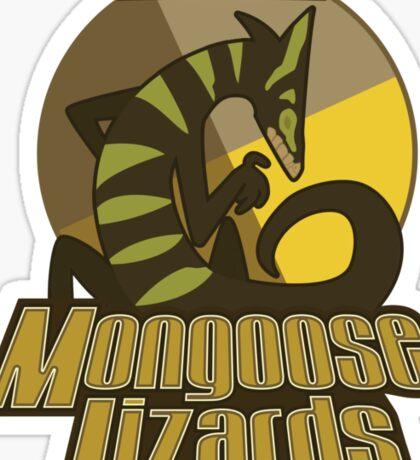 Mo Ce Mongoose Lizards Sticker