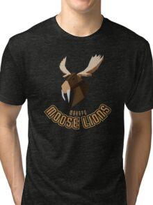 Makapu Moose Lions Tri-blend T-Shirt