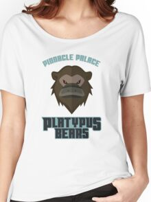 Pinnacle Palace Platypus Bears Women's Relaxed Fit T-Shirt