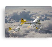 B17 - 487th Bomb Group Canvas Print
