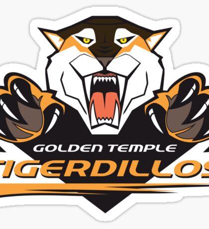 Golden Temple Tigerdillos Sticker