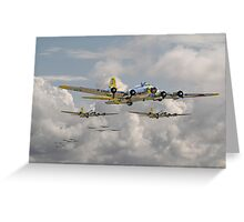 B17 - 486th Bomb Group Greeting Card