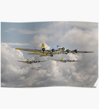 B17 - 486th Bomb Group Poster