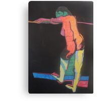 The Lonely Nude by Tristana Fitzgerald Canvas Print