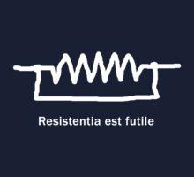 Resistentia est futile - Latin T Shirt Kids Tee