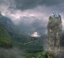 Castle in the Clouds by awcheung2