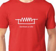 Gwrthiant yn ofer - Welsh T Shirt Unisex T-Shirt