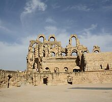 El Djem by Gary Turney
