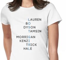 Character Names - Lost Girl Womens Fitted T-Shirt