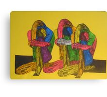 Trio of Male Nudes by Tristana Fitzgerald  Canvas Print
