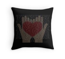 Over And Over Again (Nathan Sykes) Throw Pillow
