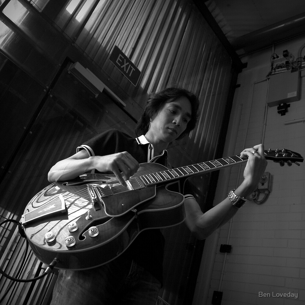 The Muso. by Ben Loveday