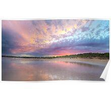 Torquay Sunset  Poster