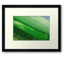 Glasland # 44 Framed Print