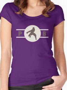 Badgermoles Pro-Bending League Gear (Alternate) Women's Fitted Scoop T-Shirt