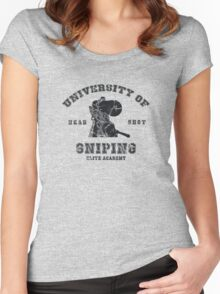 College of sniping Women's Fitted Scoop T-Shirt